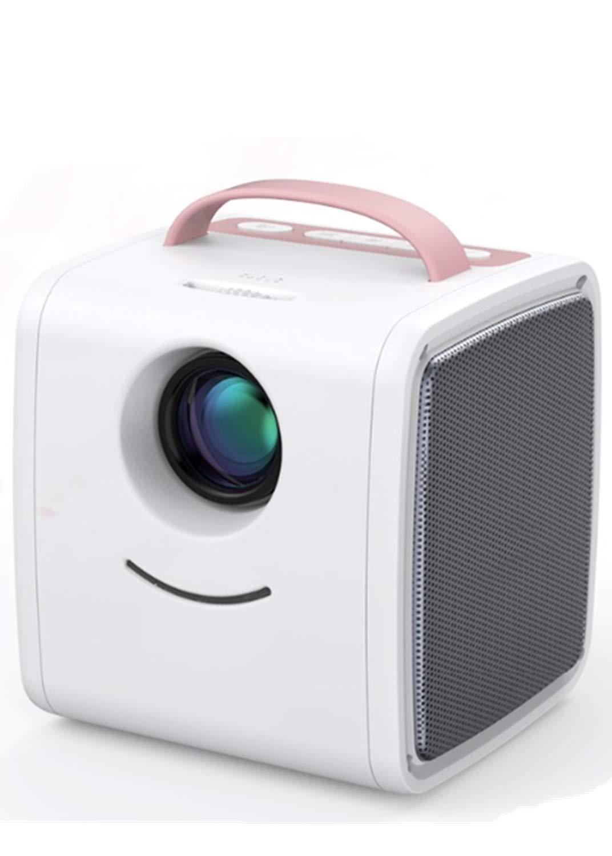 Mini proyector, proyector portátil de 70 lúmenes, niños Educación ...