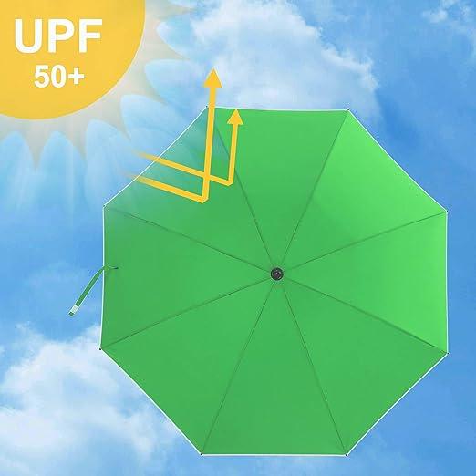 SONGMICS Parasol de 1, 8 m de Arco, Sombirlla, Protección Solar, Capota Octogonal de Poliéster, Costilla de Fibra de Vidrio, Mecanismo de Inclinación, para Jardín Piscina, Verde GPU60GN: Amazon.es: Jardín