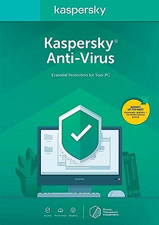 Kaspersky Anti-Virus Essential Protection para su PC: Amazon.es: Electrónica