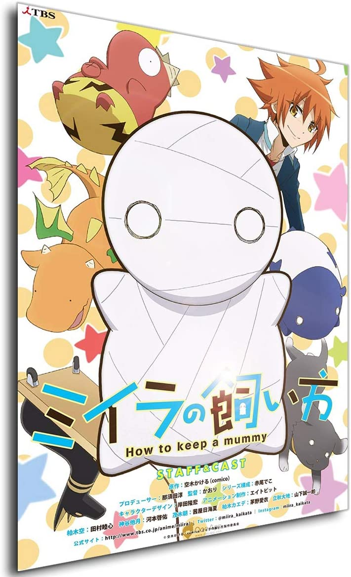 Instabuy Poster Anime Miira No Kaikata How To Keep A Mummy A4 30 X 21 Cm Amazon De Kuche Haushalt Check out our how to keep a mummy selection for the very best in unique or custom, handmade pieces from our shops. amazon de