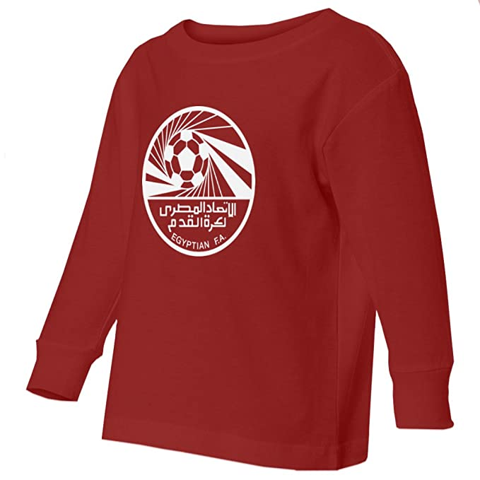 Amazon.com  Tcamp Egypt 2018 National Soccer  10 Mohamed SALAH World  Championship Little Kids Girls Boys Toddler Long Sleeve T-Shirt  Sports    Outdoors d780fd6f4