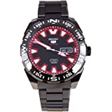 Seiko Automatic SRP749 Black Dial Gunmetal Band Men's Watch