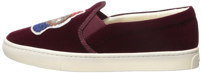 Soludos Women's Velvet Sloth Sneaker B073X7X522 9.5 B(M) US|Wine