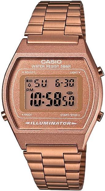 Casio Collection B640WC-5AEF, Reloj Digital Unisex, Acero ...