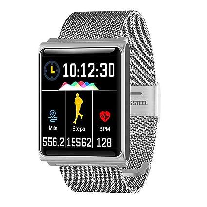 Amazon.com: Zhinengbiao Smart Watch Men Blood Pressure Heart ...
