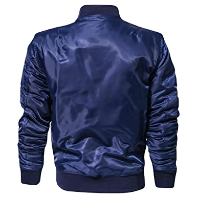 hotkey Men Blouse Teen Boy Winter Jacket Stand Collar Coat ...