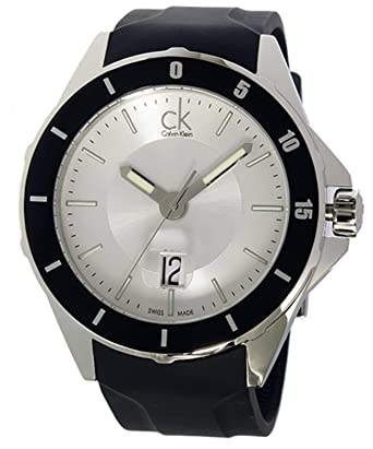 1a388a2169 カルバンクライン Calvin Klein プレイ PLAY クオーツ メンズ 腕時計 K2W21X.D6 シルバー[並行輸入