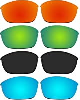 4 Pair Replacement Polarized Lenses for Oakley Half Jacket 2.0 Sunglasses Pack P11