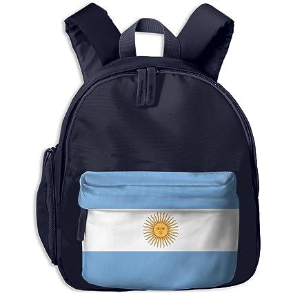 fengyaojianzhu bandera de Argentina Beautiful escuela libro bolsa viaje estudiante mochila para niños niños niñas niños