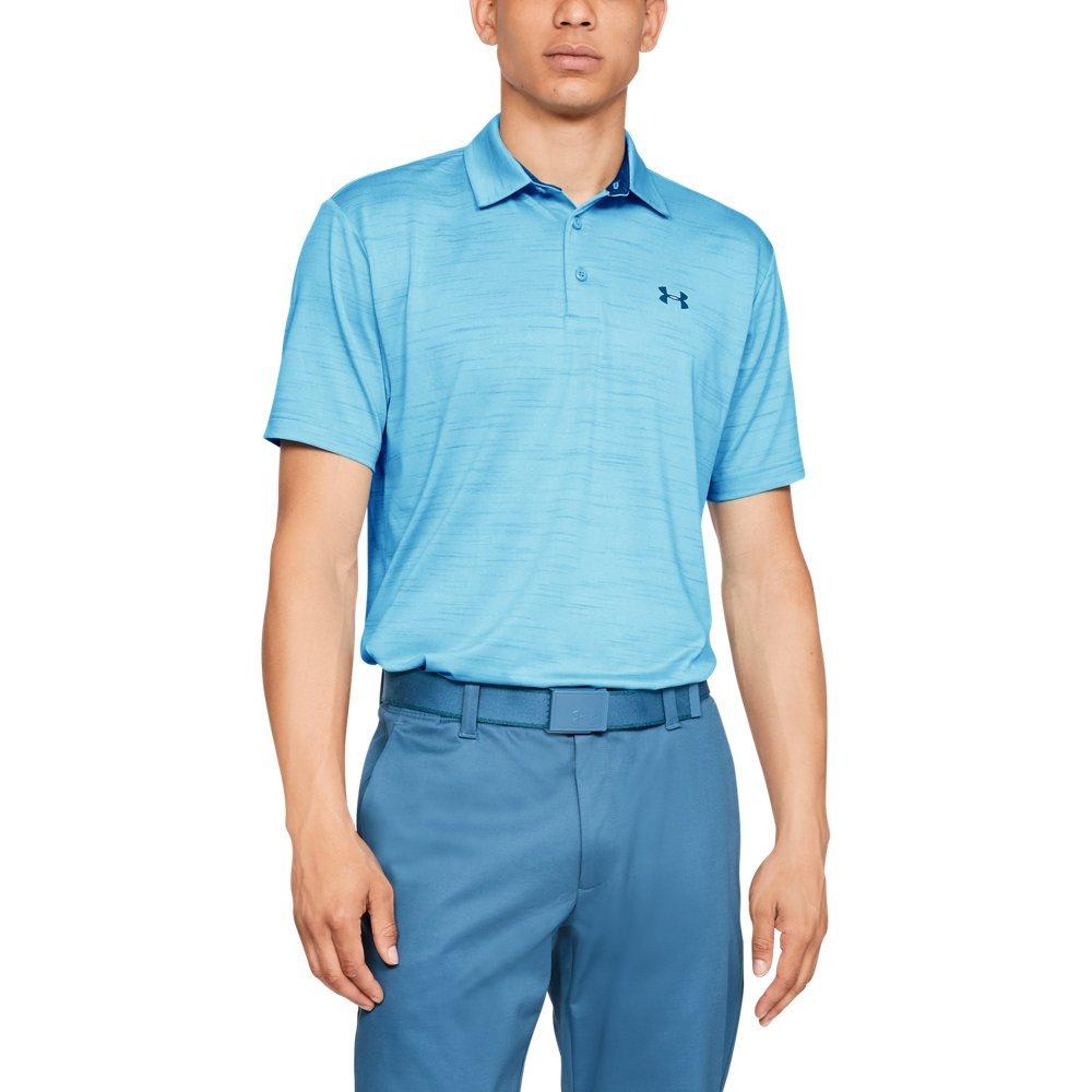 Under Armour Golf Men's UA Playoff Polo Venetian Blue/Venetian Blue/Rhino Gray XXX-Large