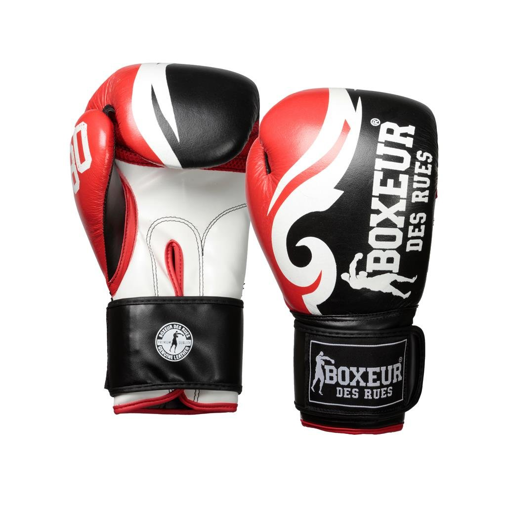 BOXEUR DES RUES Street Fighter Fight Tribal Activewear with Boxing Gloves and Logo Print