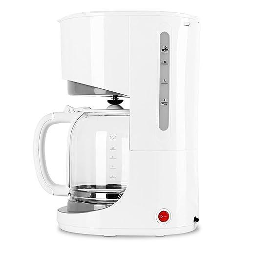 Klarstein Morning Star Cafetera de filtro (1,5L 1000W, jarra de ...