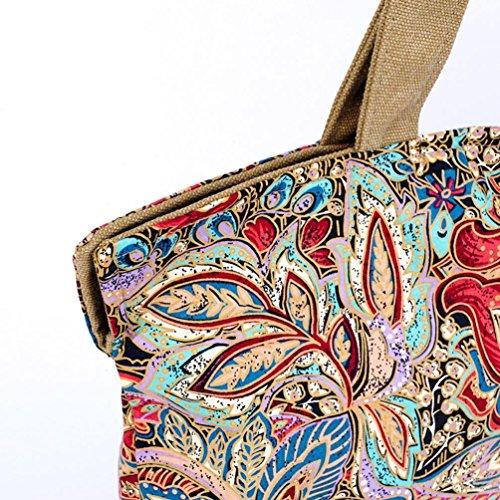 Chang Spent bolso bandolera lienzo de impresión tendencia de las mujeres (color opcional) , a a