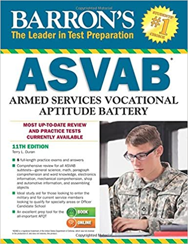 Barron's ASVAB, 11th Edition: Terry L  Duran: 9781438004921
