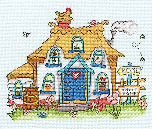 Bothy Threads Sew Dinky Cottage Cross Stitch Kit by Bothy Threads