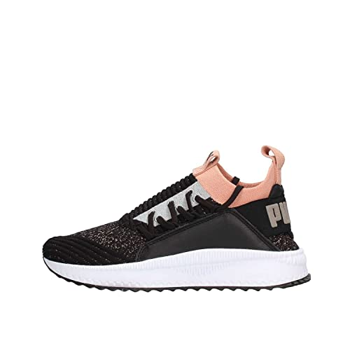 PUMA TSUGI JUN WN'S SNEAKERS NERO BIANCO ROSA 367038 08
