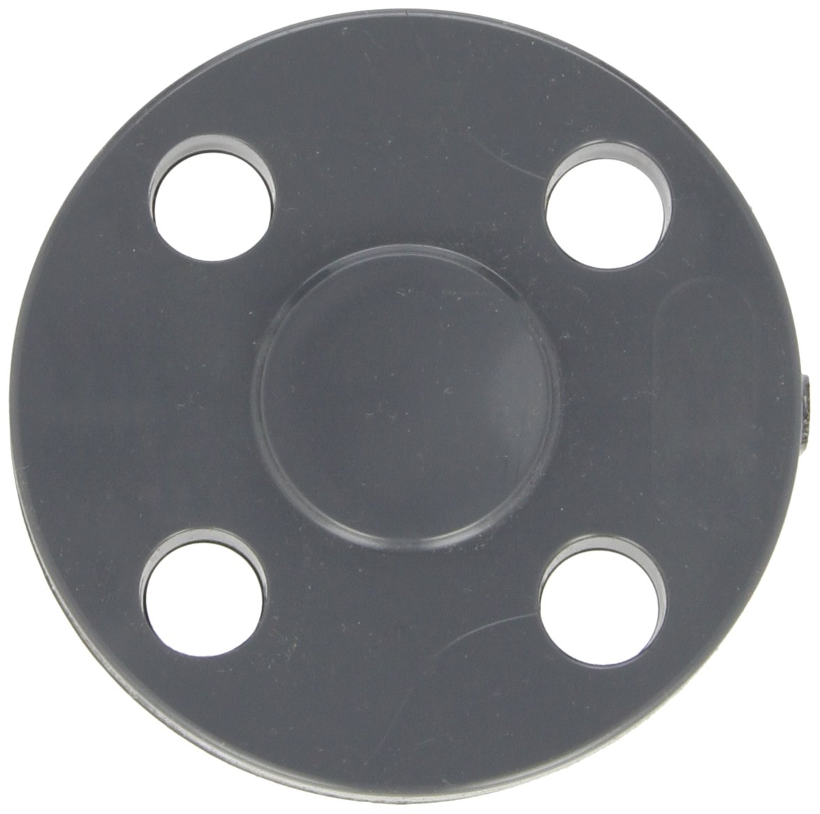 Gray Blind Flange 4 Schedule 80 GF Piping Systems PVC Pipe Fitting