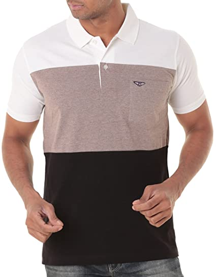 e694a10311a WEXFORD Men s Cotton Half Sleeve Polo  Amazon.in  Clothing   Accessories