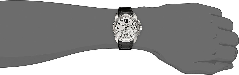 Cartier Men s W7100037 De Cartier Leather Strap Watch