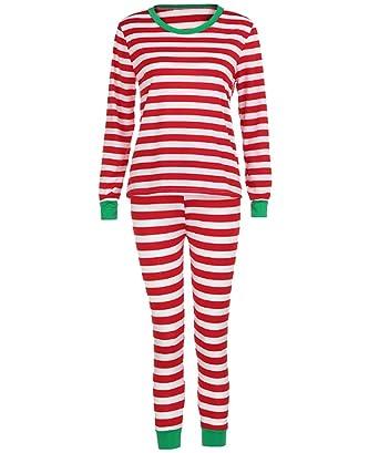 new concept 7f5ee a9eb2 ISSHE Weihnachten Pyjama Familie Weihnachts Schlafanzug ...