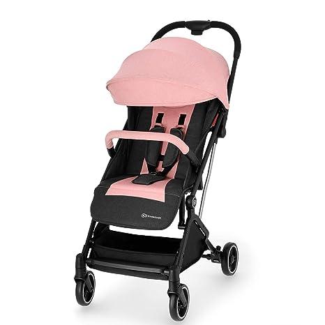 Kinderkraft Silla de paseo de bebe Indy Cochecito ligera plegado con una mano fácil de transporte material impermeable con accesorios Saco para ...