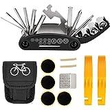 NSpring Bicycle Repair Tool Kit - 16 in 1...