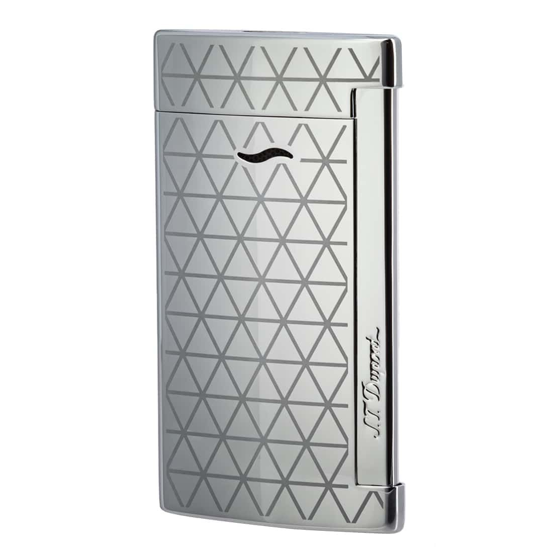 S.T. Dupont chrome firehead slim 7 lighter by S.T. Dupont (Image #1)