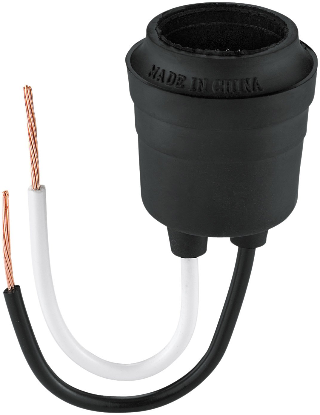 Captivating Eaton 145 Rubber Pigtail Lamp Holder With Box, Medium Base   Light Sockets    Amazon.com