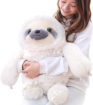 Sloth Plush Animal Soft Doll Stuffed Toys Cushion Pillow Birthday Kids Gifts UK