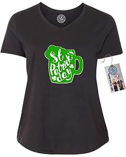 d62c4ab585a 12.99 Prime Tees Women s Plus Size Irish You Were Beer ST. Patricks ...