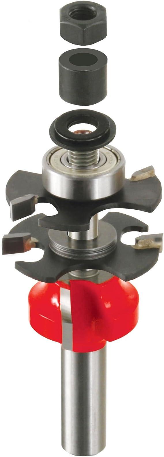 Premier Adjustable Rail /& Stile Bit with 1//2 Shank 99-764 Freud 1-11//16 Bevel Dia.