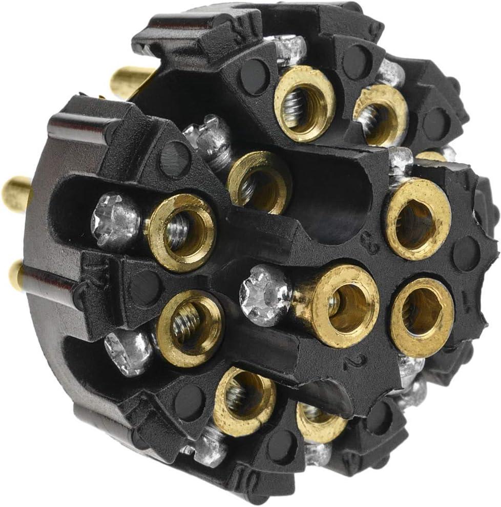 BeMatik Spina veicoli 13 poli 13P maschio per rimorchi e roulottes