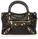 Balenciaga Women's Giant 12 Mini City Bag, Black