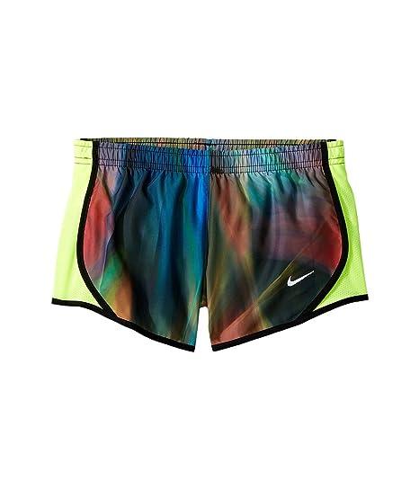 a8c1c14698 Amazon.com : Nike Kids Dry Tempo Print Running Short Little Kids/Big Kids  Barely Volt/Volt/Black Girl's Shorts : Everything Else
