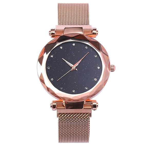 Reloj de Moda de la Mujer Relojes de Cuarzo con dial de Moda para Mujer, Reloj para Dama (Color : T4): Amazon.es: Relojes