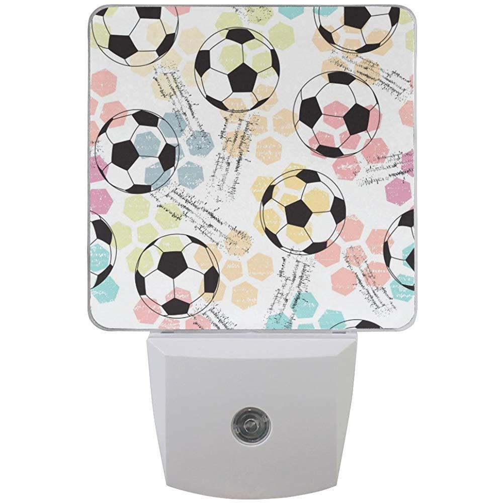 Balón de fútbol en Blanco y Negro con patrón de hexágono Colorido ...