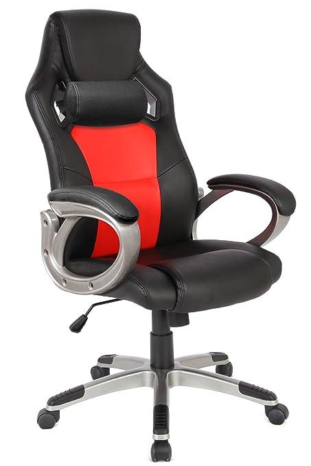 Amazoncom Racing Style Gaming Chair Office Computer Ergonomic