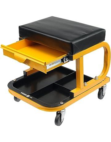 VOREL 81824 - asiento de taller con cajón