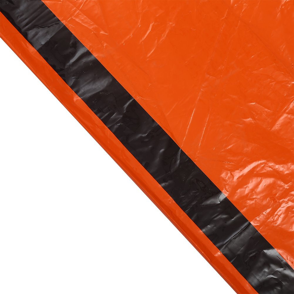 Disaster Prevention Ponchos Thermal Waterproof Blanket Emergency Rescue Shelter Foldable Military Survival Tent