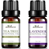 Satthwa Tea Tree Oil & Lavender Essential Oil Combo (30ml)