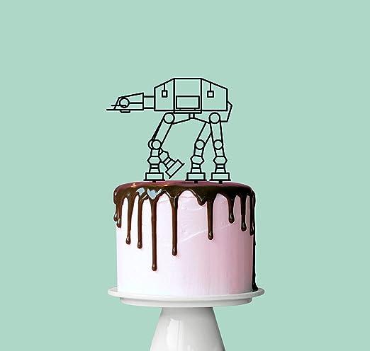 Decoración para tarta de ATAT, decoración para tarta de boda ...