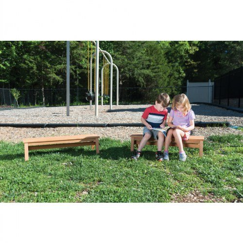 Kaplan Early Learning Company Outdoor Wooden Stacking Benches (Set of 2) by Kaplan Early Learning Company (Image #4)