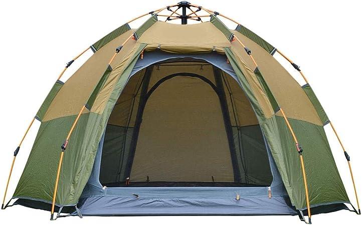 Tente à dôme escamotable pour 3 4personnes Installation