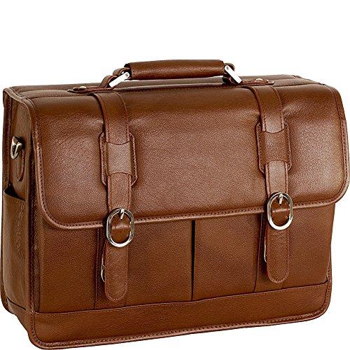 McKleinUSA BEVERLY 15444 Brown Leather Laptop Case