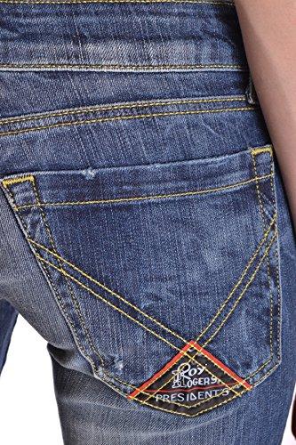 MCBI262025O Blu Donna Roger's Jeans Cotone Roy YqPCt0