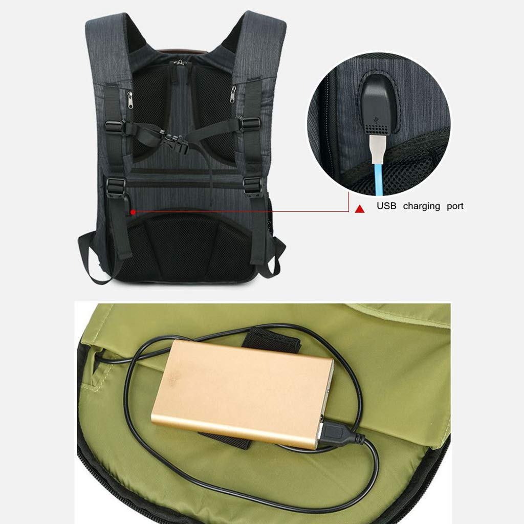 WUZHENG Camera Backpack Professional DSLR Bag with USB Charging Port Photography Backpack Compatible for Sony Canon Nikon Lens Tripod Accessories