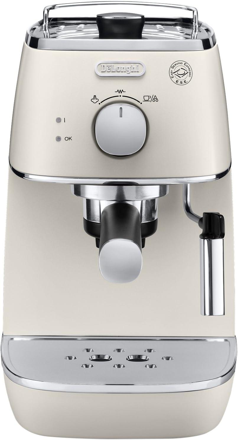 DeLonghi ECI 341.W - Cafetera automática, 1 l, 1100 W, 15 bar, color blanco: Amazon.es: Hogar