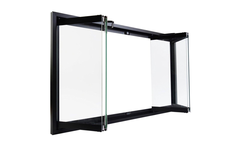 Amazon Heatilator Bi Fold Glass Fireplace Door Easy To Install