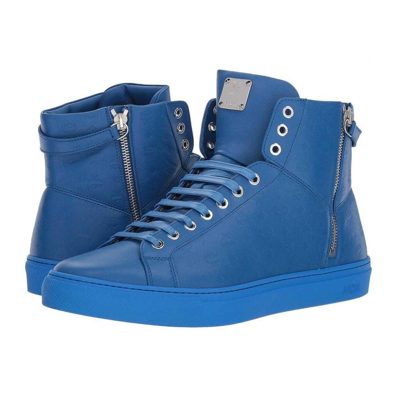 (エムシーエム) MCM メンズ シューズ靴 スニーカー Embossed Logo High Top Turnlock Sneaker [並行輸入品] B07F6K6S68