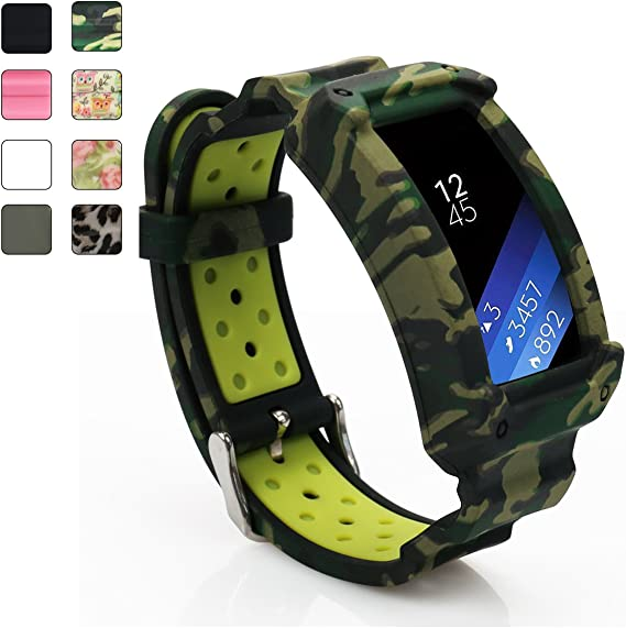 Replacement Wrist Band Silicone Strap Bracelet For Samsung Gear Fit 2 /&Fit 2 Pro